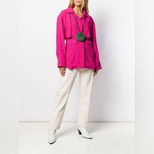 Jacquemus hot pink blazer size 8 BNWT